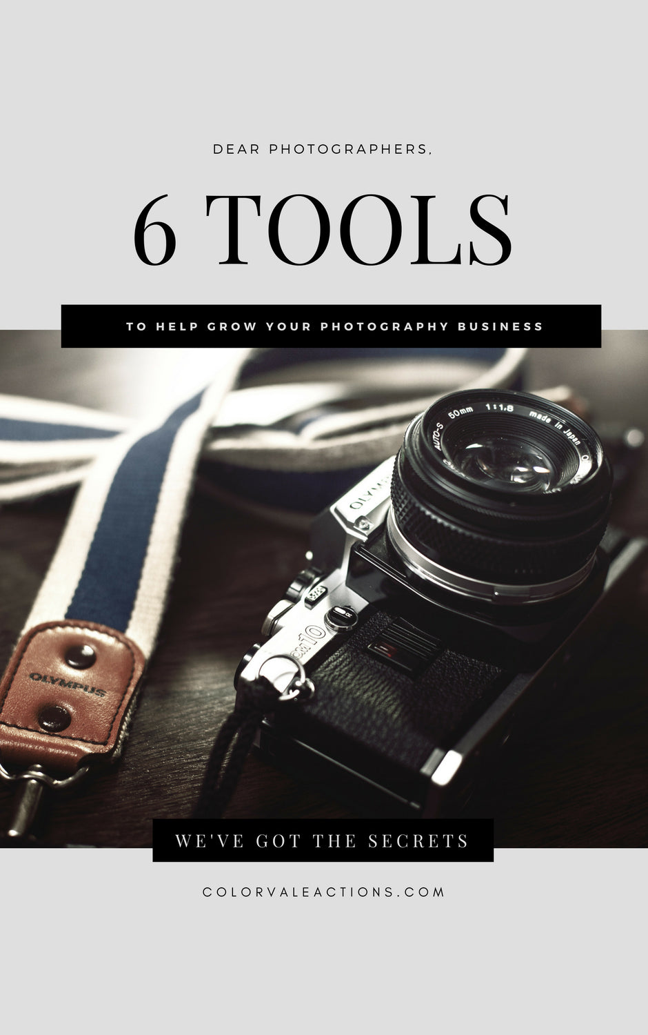 6 Tools To Help You Grow Your Photography Business