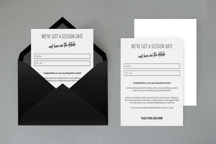 Client Session Reminder Cards