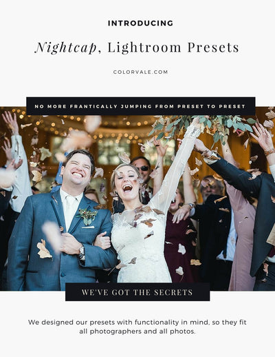 Nightcap Lightroom Presets by Colorvale