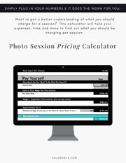Photo Session Pricing Calculator