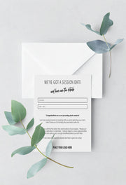 Client Session Reminder Cards - for photographers - Business Tools