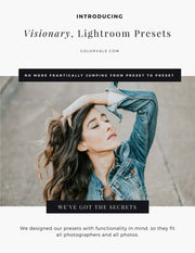 Discover a light + airy Lightroom preset collection make editing something you love to do again!  If two words could describe this set we would scribble in pastel ink the words Luminous + Fresh all over this freakin page!