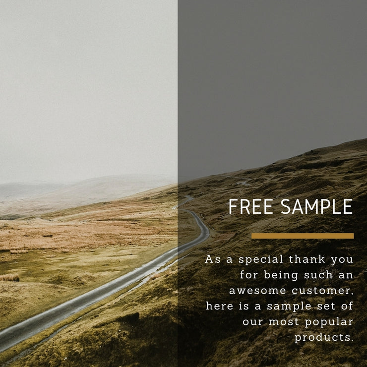 Free Sample Set by Colorvale - for photographers -