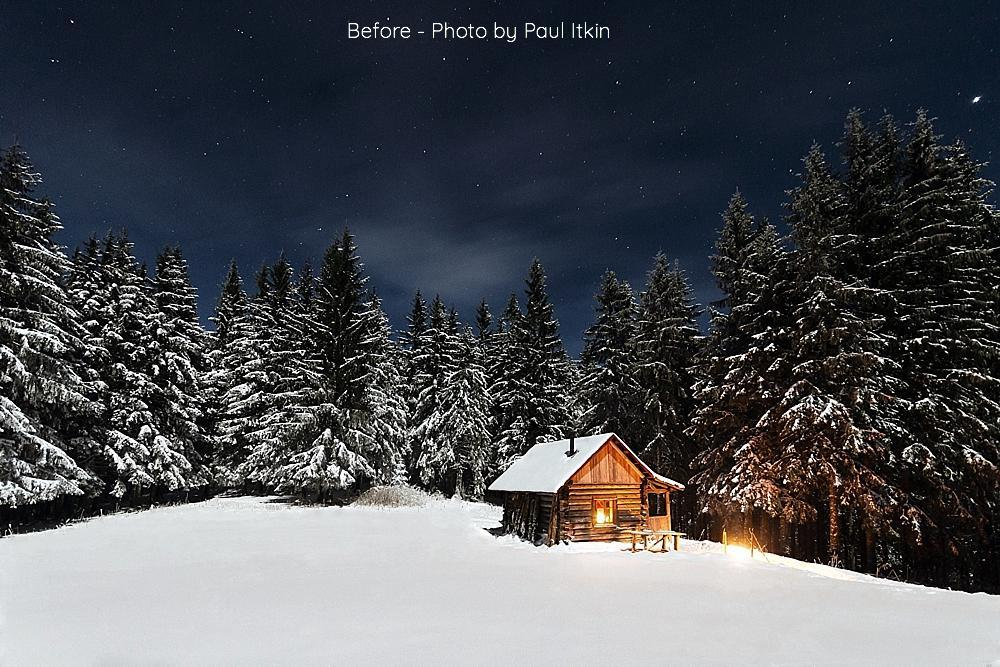 Realistic Snow Overlays for Photoshop or Elements - for photographers - Templates & Overlays