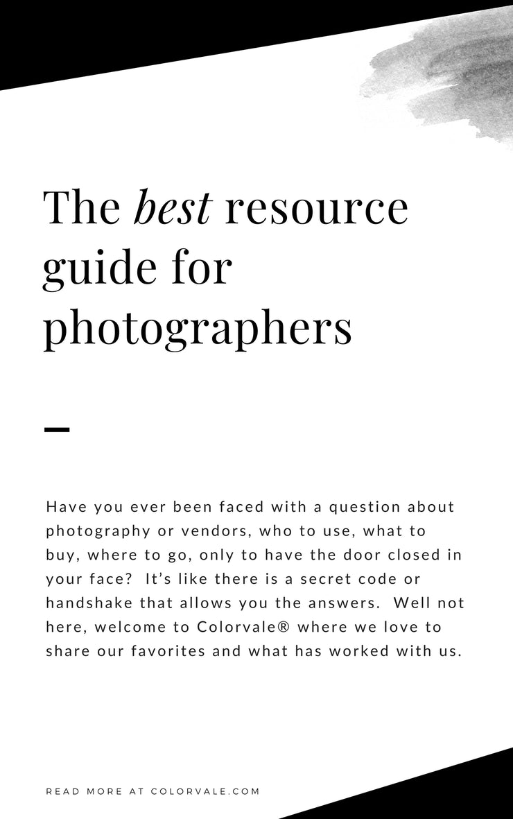 The best (free) resource guide for photographers