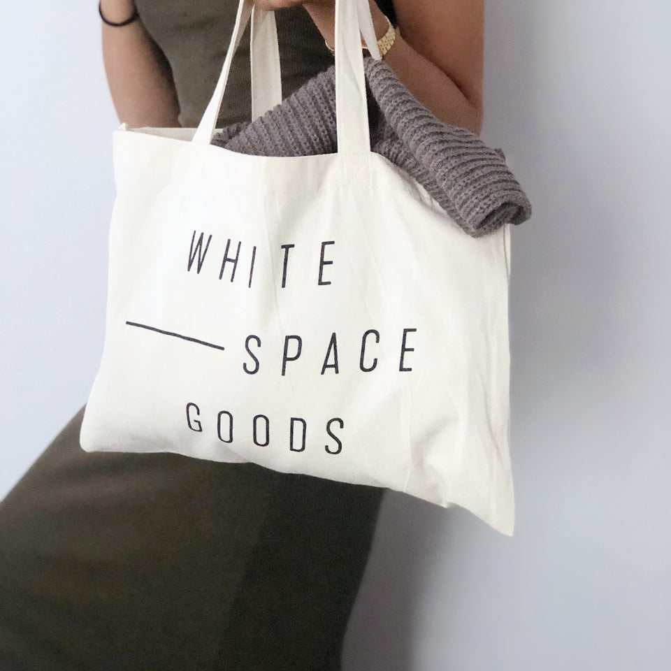 Whitespace Goods Tote