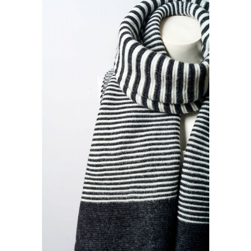 Multi-Striped Blanket Scarf