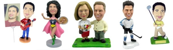 Sample Bobbleheads