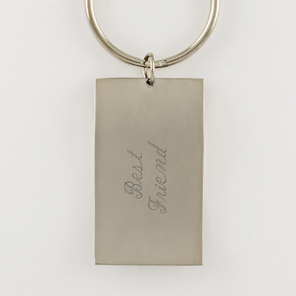 Crystal Satin Keychain - Things Engraved