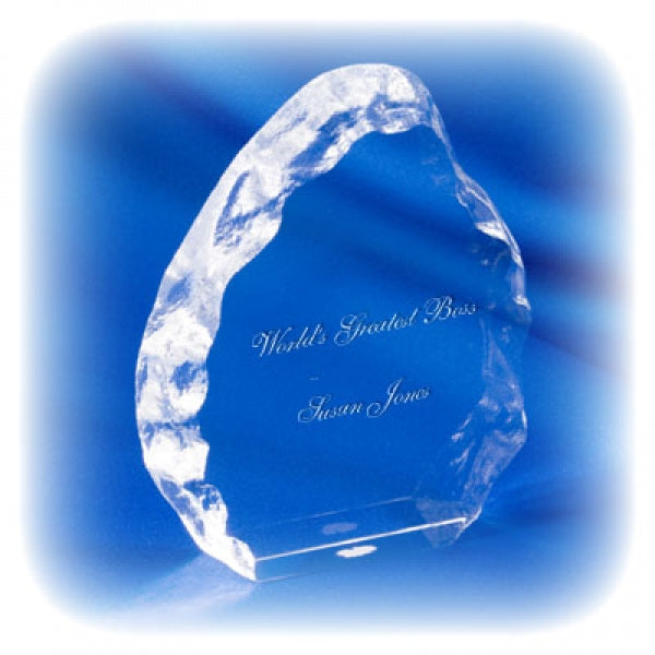 Optic Iceberg Award - Things Engraved