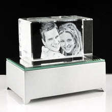 3D Photo Crystal Small - Things Engraved
