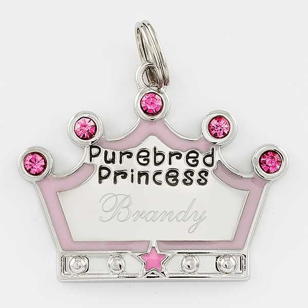 Purebred Princess Pet Tag