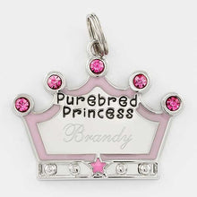 Purebred Princess Pet Tag - Things Engraved