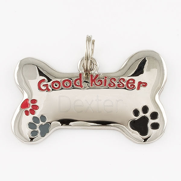 Good Kisser Pet Tag