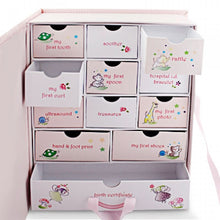 Baby Keepsake Box - Pink - Things Engraved