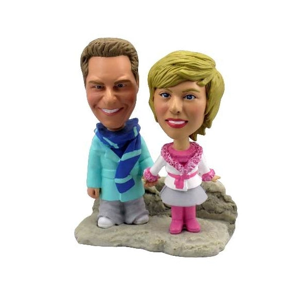 Custom Bobblehead - Double Body - Two Persons