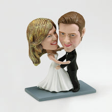 Custom Bobble Head - Double Body - Two Persons - Things Engraved