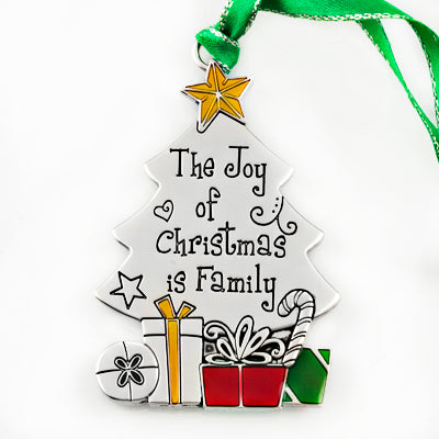 The Joy of Christmas is Family Ornament - Things Engraved