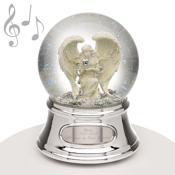 Musical Water Globe - Angel