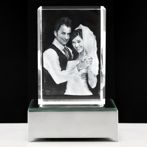 3D Photo Crystal Extra Large - Things Engraved