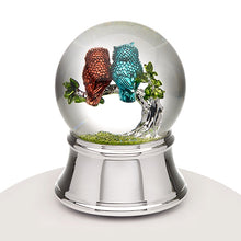 Musical Water Globe - Love Owls - Things Engraved
