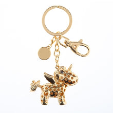 Unicorn Bling Keychain - Things Engraved