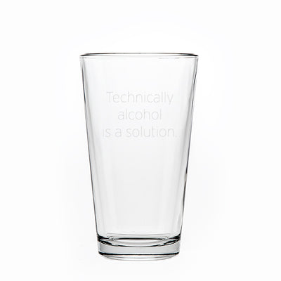 Classic Beer Pint - 16oz - Things Engraved