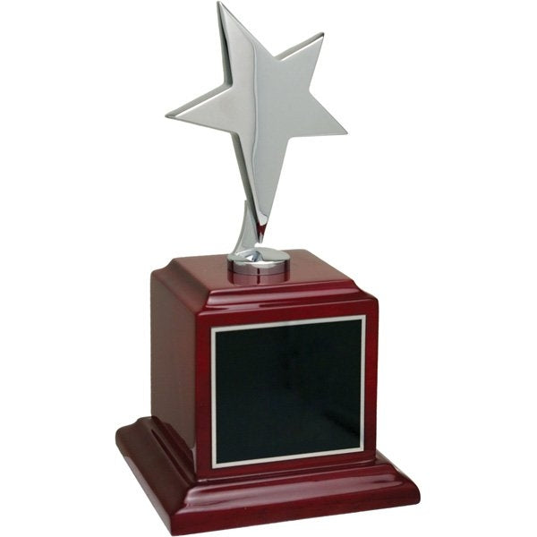 "Star Trophy Award 6 1/4"" - Things Engraved"