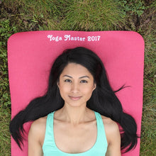 Custom Yoga Eco Mat - Raspberry - Things Engraved
