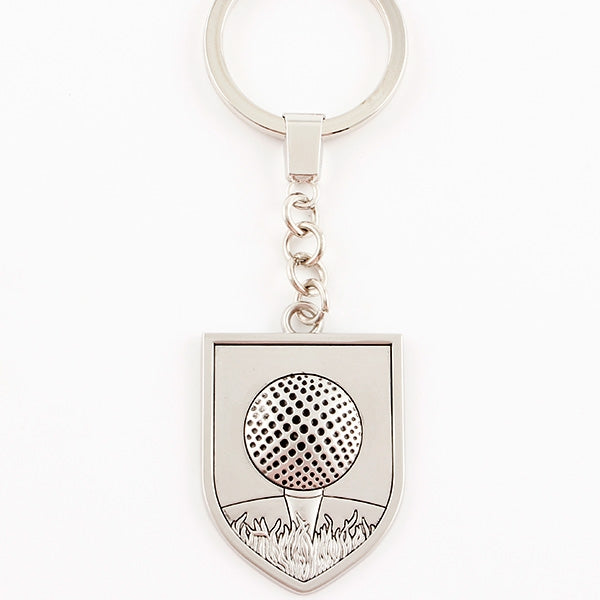 Golf Keyring - Golf Ball and Tee - Things Engraved