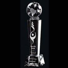 "Galaxy Crystal Award 8 1/2"" - Small - Things Engraved"
