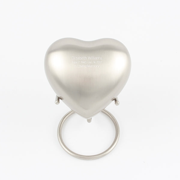 Stand for Pewter Heart Keepsake Urn