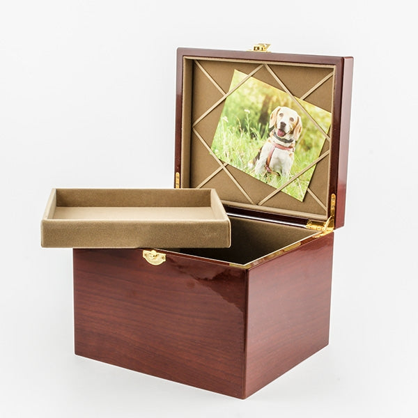 Paw Print Memory Chest - Things Engraved