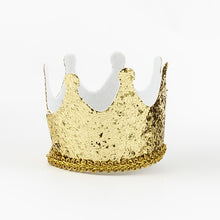 Sixty Glass with Gold Crown Fascinator - Things Engraved