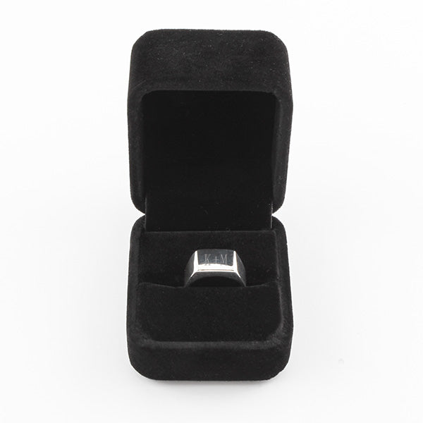 Rectangular Sterling Signet Ring