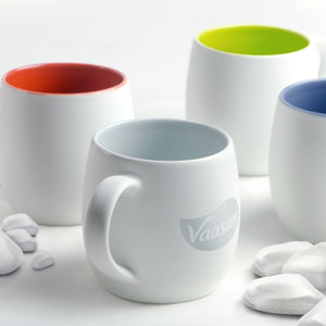 Quartz Mug w/inner colour (75 Min Order Qty) - Things Engraved