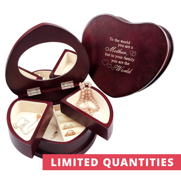 SPECIAL Heart Swivel Jewel Box