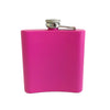 Pink Stainless Steel 6oz Flask