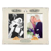 4x6 Twin Wedding/50th Anniversary Photo Frame