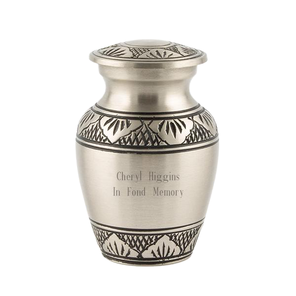 """Athena"" Pewter Keepsake Urn"