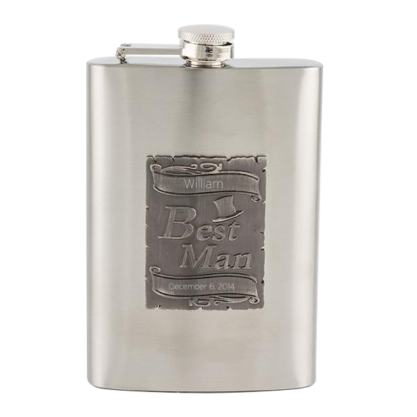 Best Man Flask