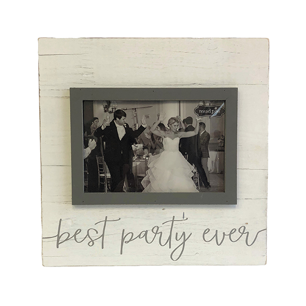 Best Party Ever Wood Frame