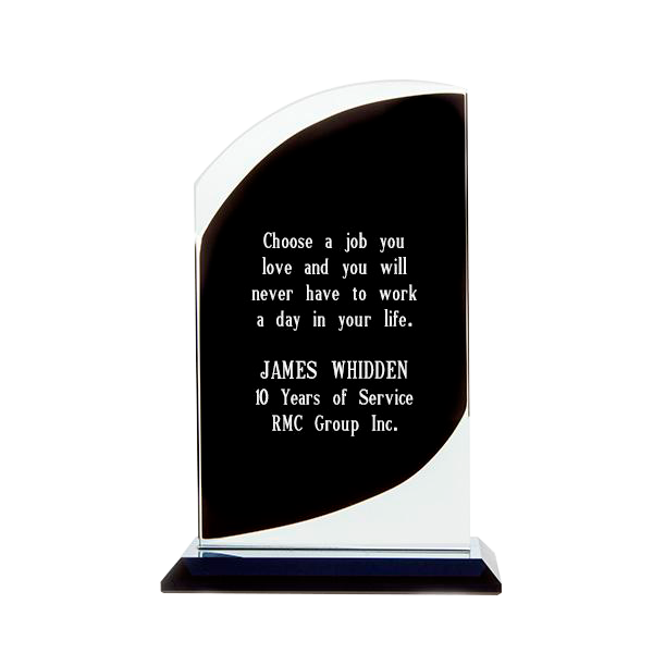 Black Glass Curve Award