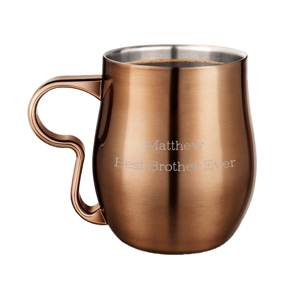 Burnt Copper Curvy Cup - 17oz