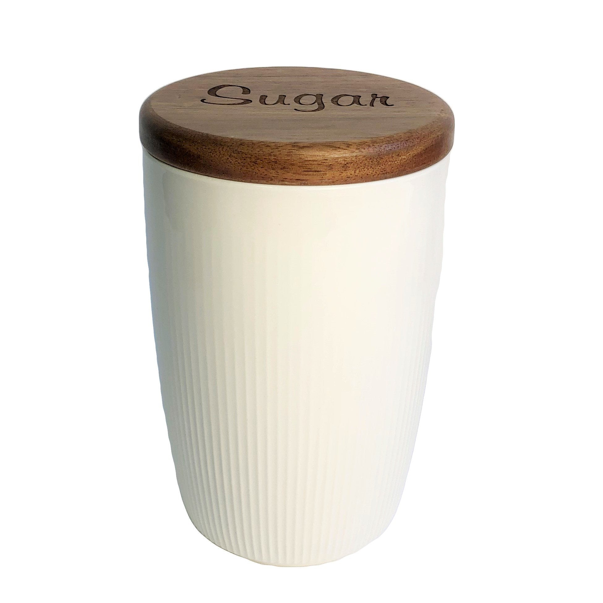 Ceramic kitchen canister 20 oz
