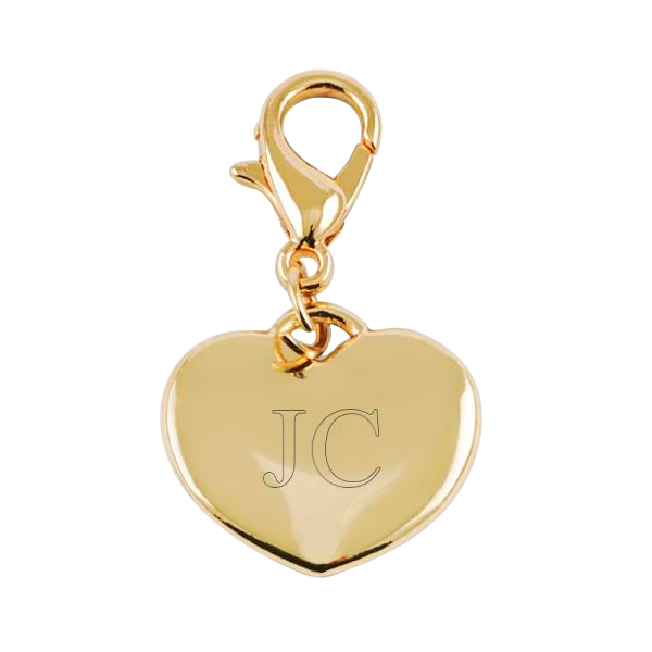 Charm Small Heart Gold
