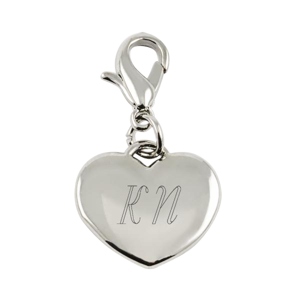 Charm Small Heart Silver
