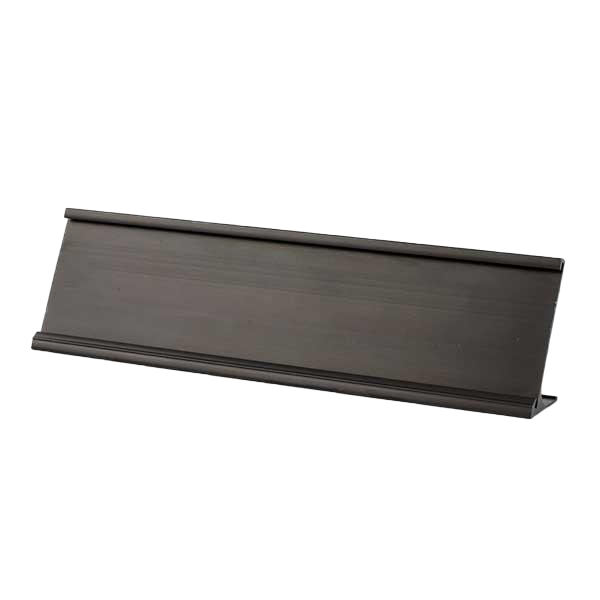 Desk Plate Holder Black