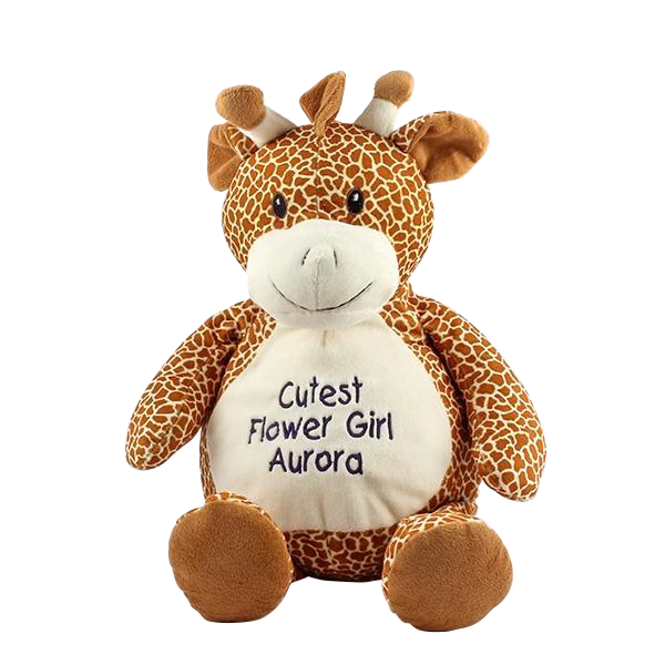 Embroiderable Gerry Giraffe