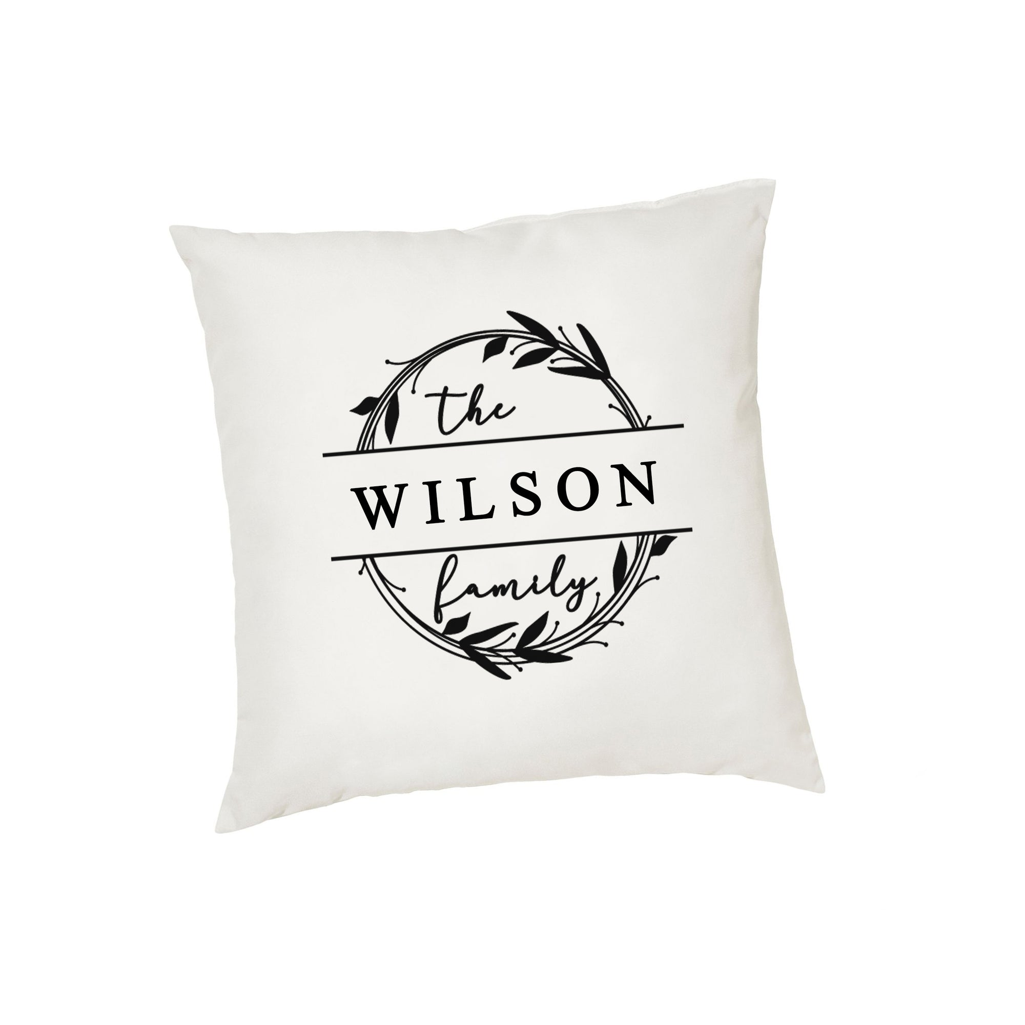 Family Monogram Cushion cover